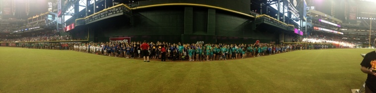 choir night panorama