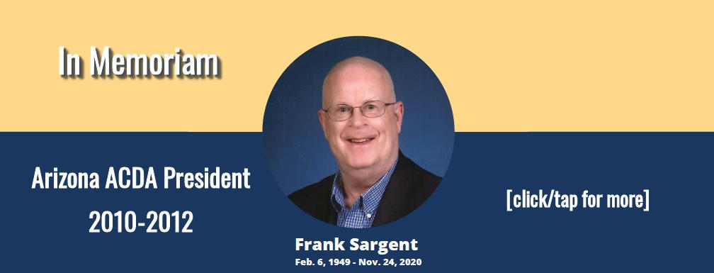 In Memoriam - Frank Sargent